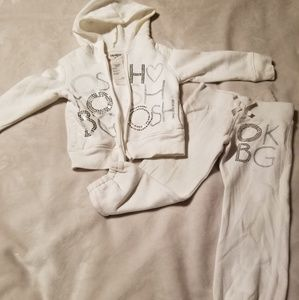 Toddler sweat suit